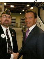 2008-05-Michael & Arnold Schwarzenegger-Union City, CA