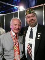 2009-07a-Michael & Buzz Aldrin-2nd Man to walk on the Moon