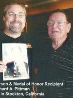 2009-08-Michael & Richard Pittman (Medal of Honor)-Stockton, CA