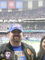 2010-01-Michael & Mary at the Sugar Bowl College Football game in New Orleans, LA