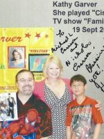 2009-09-Michael with Nickolas & Kathy Garver (Cissy)-Actress