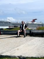 2010-04-Michael in the country of Bermuda during Cruise