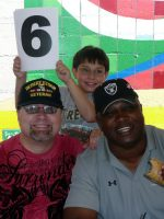 2010-08-Michael & Jeff Barnes (Oakland Raiders) at Taco Eating Contest
