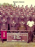1982-08-Michael's Marine Corps Bootcamp Graduation Picture, Parris Island, SC