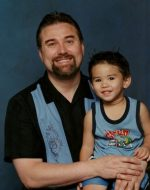 2005-07-Michael with Tyler
