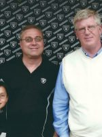 2010-10-Michael with Nickolas & Dave Casper (The Ghost)-Oakland Raider