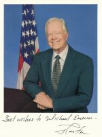 2010-President Jimmy Carter Personalized and autographed photo to Michael