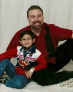 2005-12-Michael with Nickolas