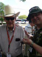 2011-03d-Michael with Bill Worf- USMC Iwo Jima Veteran