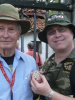 2011-03f-Michael with Dewey Dobson-USMC Iwo Jima Veteran