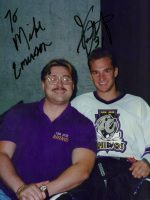 1994-07b-Michael & Jon Gustafson-San Jose Rhinos Goalie