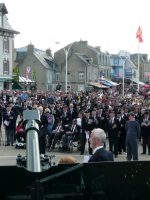 2010-06m-Arromanches D-Day Ceremony at Gold Beach in Normandy, France