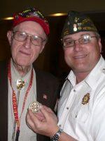 2011-03k-Michael with Lewis Seago-USMC Iwo JIma Veteran