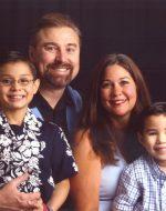 2007-08-Nickolas, Michael, Mary & Tyler