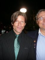 2011-08-Michael &  Crispin Glover (Actor) at Playboy Mansion