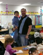 2009-03-Michael visiting his son Tyler at school in Las Vegas, Nevada