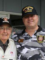 2011-09-Michael & Floyd Hunter-Iwo Jima Marine