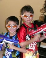 2009-07-Tyler & Nickolas Emerson - Nerf Warriors