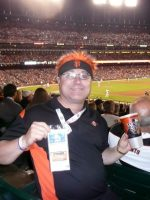 2010-10 Michael at the World Series Game1-Giants11 vs Rangers7