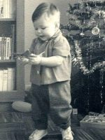 1963-12a-Baby Michael during Christmas