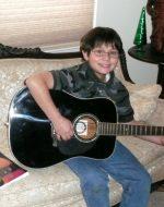 2010-12-Nick on Guitar