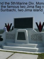 2012-03c-On top of Mt. Suribachi on Iwo Jima Island-5th Marine Div Monument