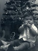 1963-12b-Baby Michael and his first Christmas