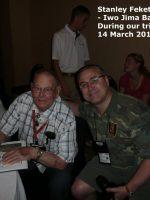 2012-03c-Iwo Jima Trip - Stanley Feketa - Iwo Jima Survivor
