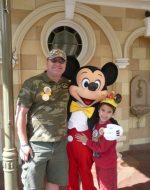 2011-05-Papa & Tyler at Disneyland