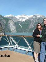 2012-08b-Alaska Cruise-Glacier in background