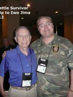 2012-03d-Iwo Jima Trip - Lester Carlyle - Iwo Jima Survivor