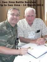 2012-03f-Iwo Jima Trip - Joe Costello - Iwo Jima Survivor