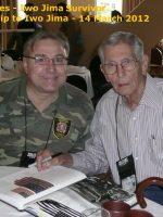 2012-03g-Iwo Jima Trip - John Huffhines - Iwo Jima Survivor