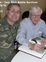 2012-03h-Iwo Jima Trip - Clyde Jackson - Iwo Jima Survivor