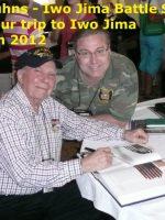 2012-03i-Iwo Jima Trip - Irwin Kuhns - Iwo Jima Survivor