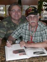2012-03j-Iwo Jima Trip - George Cattelona - Iwo Jima Survivor