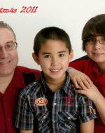 2011-12-Emerson Family Christmas Portrait