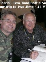 2012-03k-Iwo Jima Trip - Wayne Harris - Iwo Jima Survivor