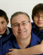 2012-01-Tyler, Michael (Papa) & Nick Emerson