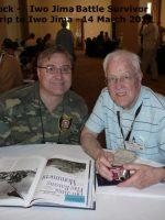 2012-03L-Iwo Jima Trip - Ralph Whitlock - Iwo Jima Survivor
