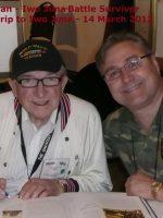 2012-03m-Iwo Jima Trip - Bruce Heilman - Iwo Jima Survivor