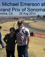 2012-08b-Nick & Michael Emerson at Indy Grand Prix of Sonoma