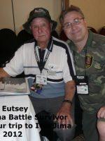 2012-03n-Iwo Jima Trip - Abraham Eutsey -Iwo Jima Survivor