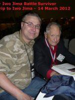 2012-03r-Iwo Jima Trip - Isom Rigell - Iwo Jima Survivor