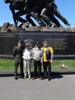 2013 04 20e-Honor Flight NorCal at Marine Memorial
