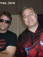 2012-05a-Michael with Actor Thomas Jane at Comic Convention