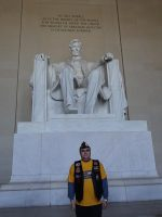 2013 04 20i-Honor Flight NorCal Lincoln Memorial