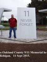 2015 09 11b-Oakland County 911 Memorial-Pontiac, Michigan