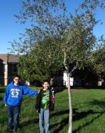 2014-12-27-Nick & Tyler with Tyler's tree