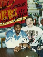 1994-11-Michael & John Taylor-SF 49ers